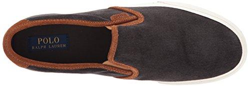 Polo Ralph Lauren Men's Vaughnslipii Sneaker Charcoal top quality PNfuff