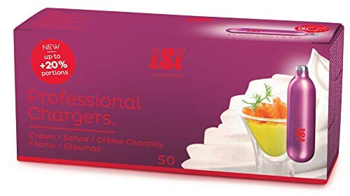 iSi Professional 50-Pack N2O Cream Charger Set by iSi North America