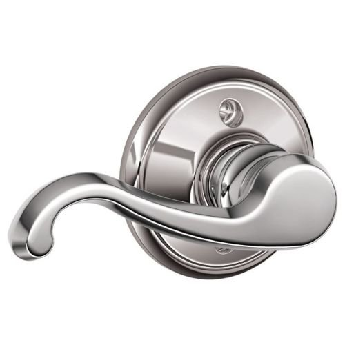 Schlage F170 Callington Left Hand Half Dummy Bright Chrome Finish