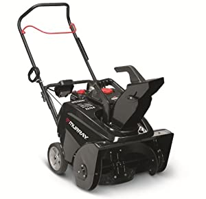 B003YCPTES_Murray 1695885 800 Snow Series 22-Inch 205cc 4-Cycle OHV Briggs & Stratton Gas Powered Single Stage Snow Thrower With Electric Start