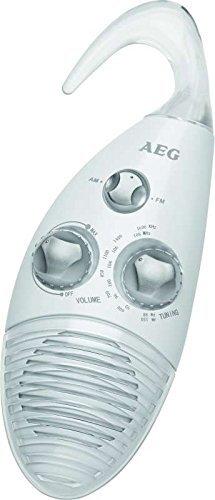 Radio da doccia fatti a mano Adio bagno radio con Sospensione (non incluse batterie + regolabile gancio) AEG