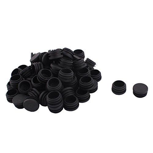 eDealMax Plastique Table Ronde Chaise Jambes Tube Insert Bouchon 30mm Dia 70pcs Noir by eDealMax (Image #1)