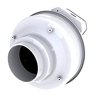 Fantech fr 100 inline centrifugal duct fan molded housing 4 bathroom fans for In line centrifugal bathroom fan