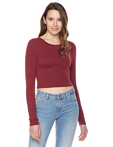 Something for Everyone Women's Crop Long-Sleeve Top