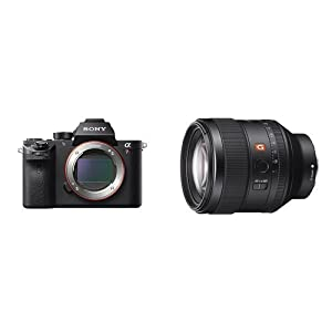 Sony a7R II Full-Frame Mirrorless Interchangeable Lens Camera, Body Only (Black) (ILCE7RM2/B) by SOAB9