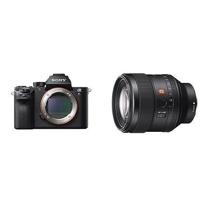 Amazon.com : Sony a7R II Full-Frame Mirrorless Digital Camera w/FE ...