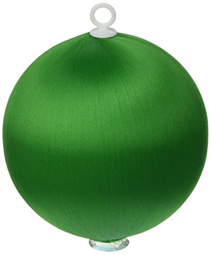 Handy Hands Satin Balls, 3-Inch, Christmas - Satin Tree Ornament Green