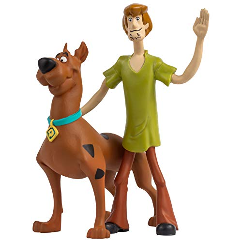 NJ Croce Scooby-Doo & Shaggy Bendable Figure Pair, - Doo Scooby Characters
