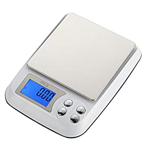 ANTEHOME GTT-001 Kitchen Food Digital Scale with LCD Display, Stainless Steel (Three Scales) 412 VYigR8L