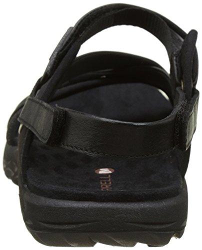 Merrell Women's Vesper Lattice Flat Sandals Black (Black) buy cheap shop offer cheap sale real Inexpensive outlet store outlet fashionable hzeh5