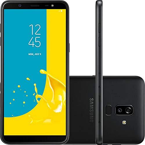 934662818 Smartphone Samsung Galaxy J8 Preto 64GB Dual Chip Tela Infinita 6 quot   Câmera Dupla 16MP e
