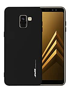 Samsung Galaxy A8 Plus 2018 SMTT Candy Series TPU Soft Case Cover - Black