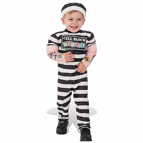 Rubie's Costume Child's Lil Prisoner Costume, Small, -