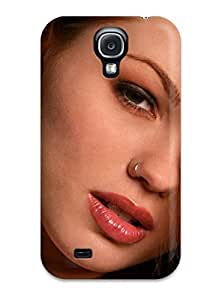 Excellent Galaxy S4 Case Tpu Cover Back Skin Protector Girl With Nose Pierce