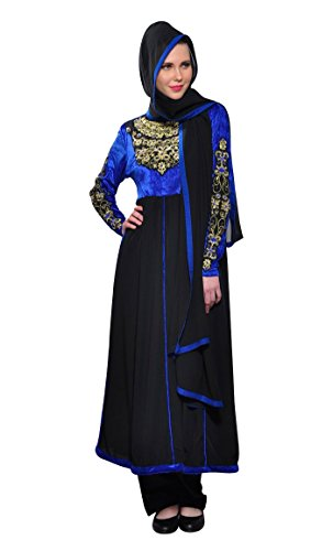 Damen Schwarz xxxxxl East Kleid Durchgehend Essence Schwarz Gr wxq84