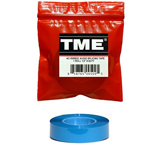 Quantegy Recording - TME Reel to Reel Audio Splicing Tape Blue Color 1/2