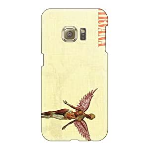 ErleneRobinson Samsung Galaxy S6 Great Hard Cell-phone Cases Allow Personal Design Beautiful Nirvana Band Pictures [tZv14193fxCs]