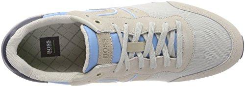 BOSS Athleisure Parkour_Runn_nymx, Sneakers Basses Homme Bleu (Open Blue 468)