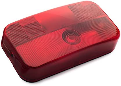 RV Stop//Turn//Tail Light Black Base LUM-STN14RB Lumitronics Surface Mount Tail Light For Safe Driving On The Road