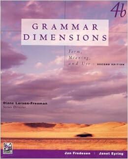 Grammar Dimensions (Bk. 4B)
