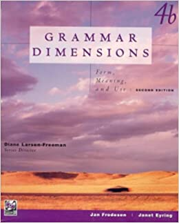 Book Grammar Dimensions (Bk. 4B)