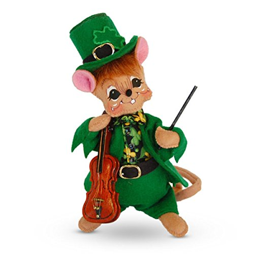 Annalee 6in St. Patrick's Boy Mouse