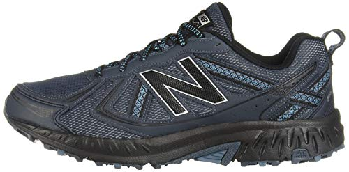 New Balance Men's 410v5 Cushioning Trail Running Shoe, Petrol/Cadet/Black, 7.5 D US by New Balance (Image #5)
