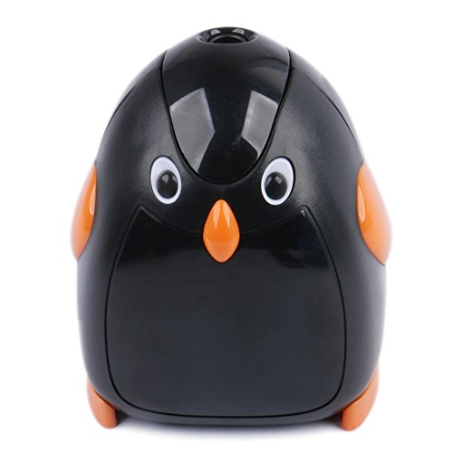 Eagle Cartoon Electric Pencil Sharpener, Battery Operated, Penguin