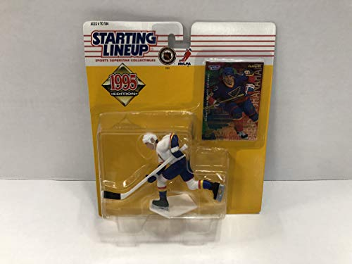 Brendan Shanahan St Louis Blues 1995 NHL Hockey Collectible Toy Action Figure with Trading Card