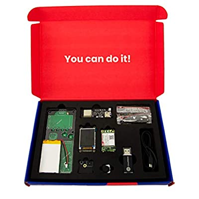 CircuitMess Ringo 4G Kit | Build Your Own Mobile Phone | Do-It-Yourself Project: Toys & Games