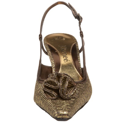 J.renee Womens Elisha Pump Bronze