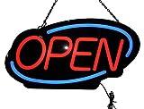 Neonetics Led Open Sign Flashing Oval LED Sign