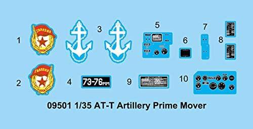 Trumpeter 09501/ /Maqueta de AT de Artiller/ía T Prime Mover
