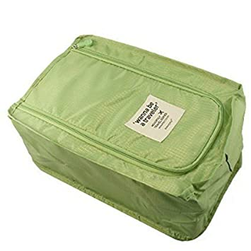 Vepson Travel Storage Shoes Bags Pouch Organizer  Green