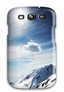 7880645K41219994 Case Cover Sunny Snowy Mountains/ Fashionable Case For Galaxy S3