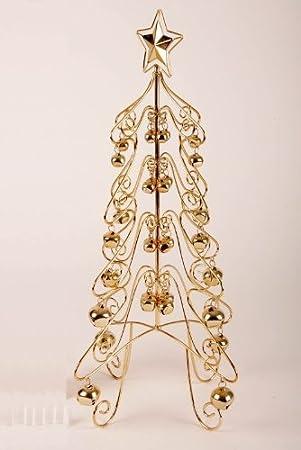 Weihnachtsbaum Drahtgestell.Amazon De Drahtgestell Tisch Weihnachtsbaum 43 Cm Metall Mit