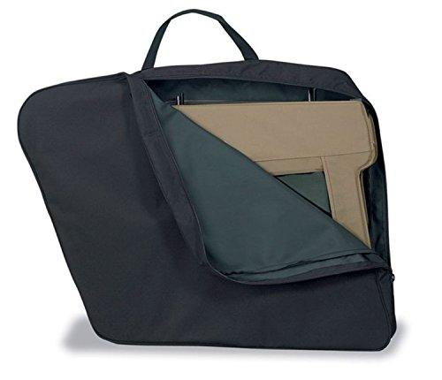 Bestop Hard Upper Doors - Bestop 51660-01 Black Door Storage Jacket for Fabric Upper Half Doors for 1987-2018 Wrangler (one jacket holds two upper soft doors)