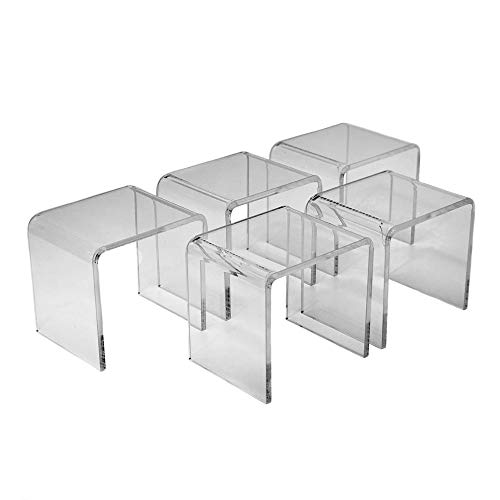Clear Acrylic Display Risers 3