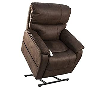 Mega Motion Windermere NM-2250 Three-Position Chaise Lounger (Dark Brown)