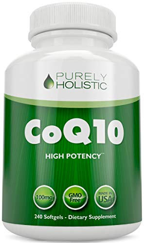 CoQ10 240 SoftGels ★ 100% Money Back Guarantee ★ High Absorption Coenzyme Q10 ★ Made in The USA to GMP Standards ★ Up to 8 Month's Co Q 10 Supply (5 Best Selling Coenzyme Q10 Supplements)