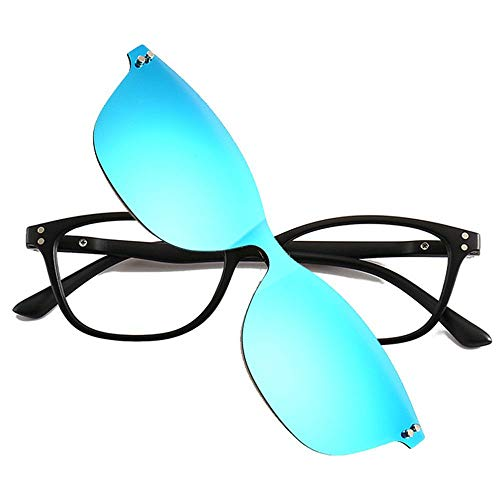 TR Marco Sol Espejo polarizado Tres de con A con miopía C Piezas One Espejo Gafas KOMNY polarizadas de polarizado de wqBBat