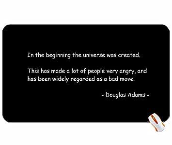 Space Weltall Zitate Douglas Adams Die