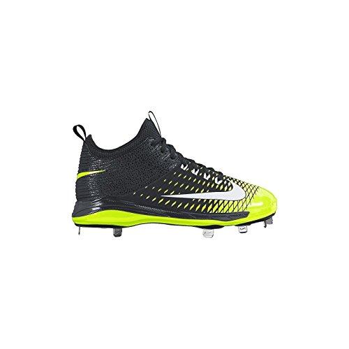 Nike Hombres de trucha 2Pro béisbol cornamusa Negro
