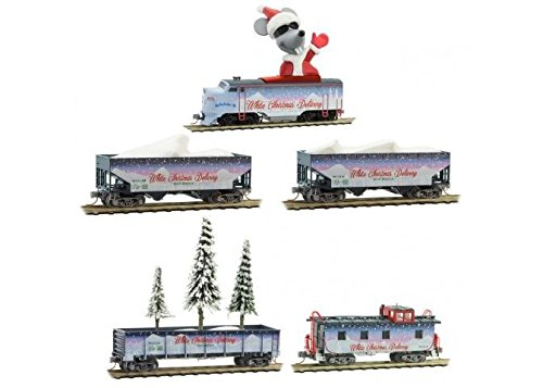 Review White Christmas Delivery Train-Only