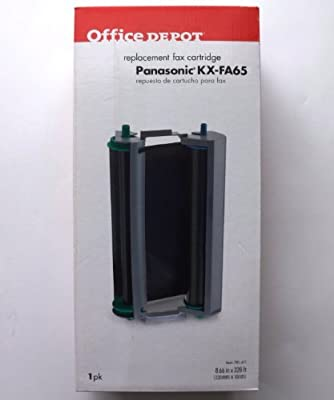 Office Depot 1020 (Panasonic KX-FA65) Black Thermal Fax Cartridge, 1020 by Office Depot