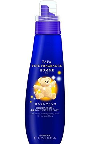 ファーファ ファインフレグランス 濃縮柔軟剤 オム (homme) 香水調クリスタルムスクの香り 本体 600ml