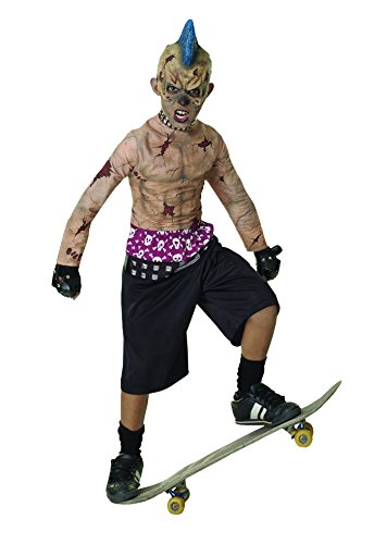 Zombie Punk Halloween Costume (Rubie's Zombie Skate Punk Child's Costume, Small)