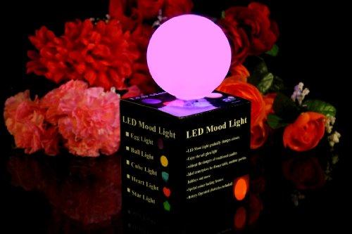 PK Green LED-Stimmungslichter Lampen mit Farbwechsel - Ball (1 x LED Ball)