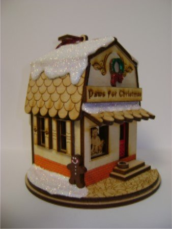 Ginger Cottages - Paws for Christmas GC128