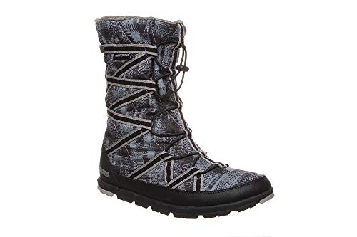 Pakems Cortina - Women's Lightweight, Packable, Waterproof, Faux-Fur Lined Fashionable Après Ski, After Sport and Perfect for Everyday and Travel Boot - Mid-Calf High (Size 7) ()